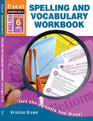 圖片 Excel Advanced Skills - Spelling and Vocabulary Workbook Year 6