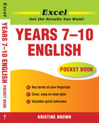图片 Excel English Pocket Book Years 7–10