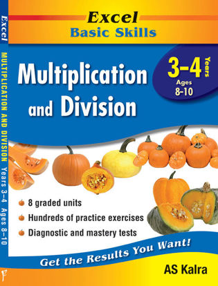 Picture of Excel Basic Skills - Multiplication and Division Years 3 - 4
