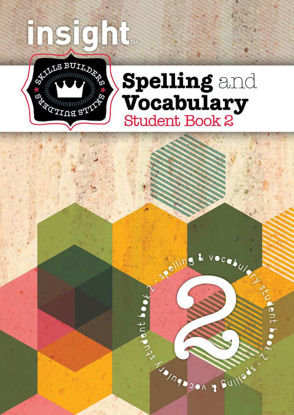 Picture of Insight Skills Builders Spelling and Vocabulary Book 2