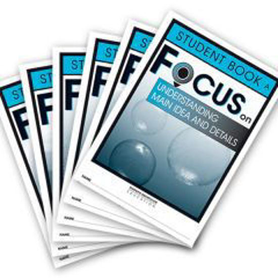 Picture of Focus on Reading Level A Student Books Set of 6