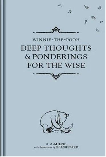 圖片 Deep Thoughts and Ponderings for the Wise Winnie-the-Pooh