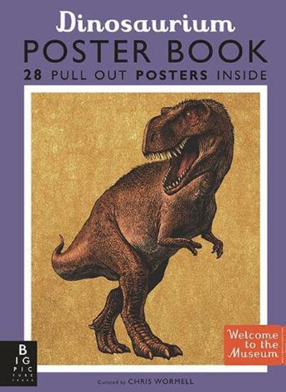 圖片 Dinosaurium Poster Book