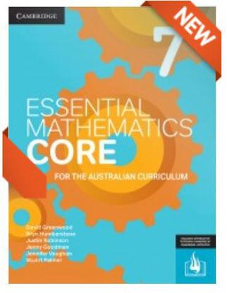 圖片 Essential Mathematics CORE for the Australian Curriculum Year 7 (print and interactive textbook powered by Cambridge HOTmaths)