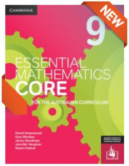 圖片 Essential Mathematics CORE for the Australian Curriculum Year 9 (print and interactive textbook powered by Cambridge HOTmaths)