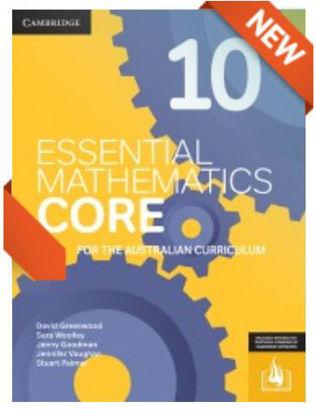 圖片 Essential Mathematics CORE for the Australian Curriculum Year 10 (interactive textbook powered by Cambridge HOTmaths)