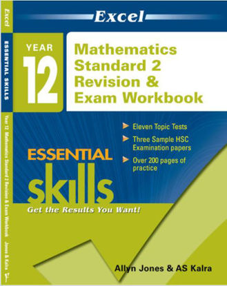 图片 Excel Essential Skills: Year 12 Mathematics Standard 2 Revision & Exam Workbook