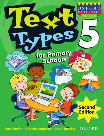 Picture of Text Types for Primary Schools Book 5