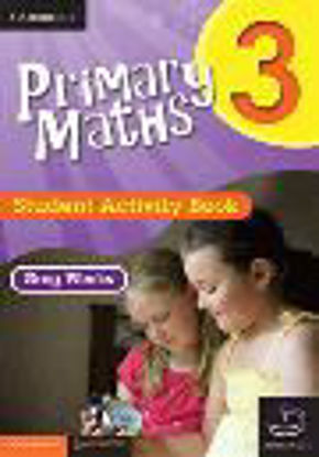 Picture of Primary Maths Student Activity Book 3 and Cambridge HOTmaths Bundle
