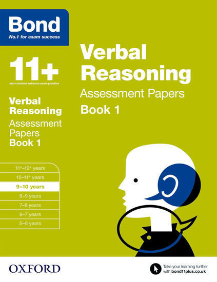 Picture of Bond 11 Verbal Reasoning Assessment Papers 9 to 10 Book 1