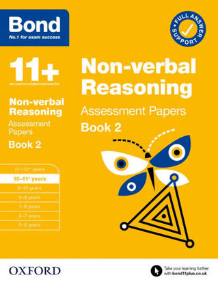 Picture of Bond 11+ Non-verbal Reasoning Assessment Papers Book 2: Age 10-11