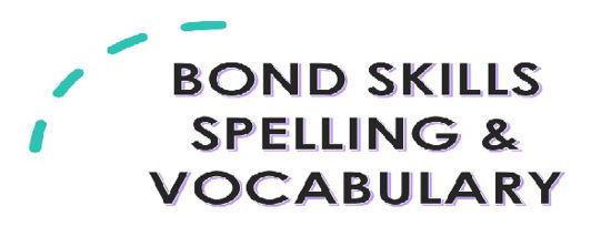 图片 BOND SKILLS: Spelling and Vocabulary