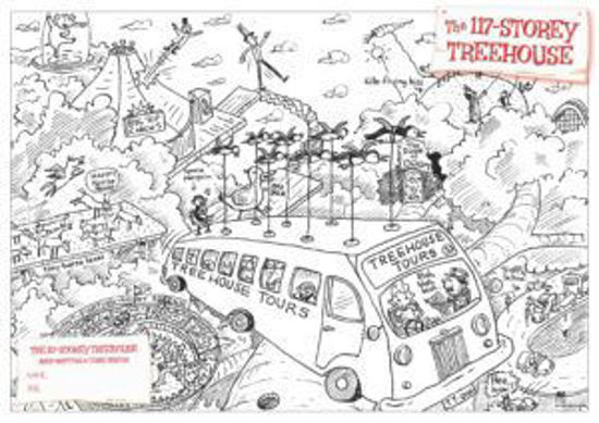 Picture of Three fun colouring-in activities from The 117-Storey Treehouse!