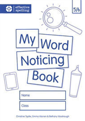 Picture of My Word Noticing Book 5/6
