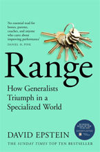 Picture of Range The Key to Success, Performance and Education  David Epstein