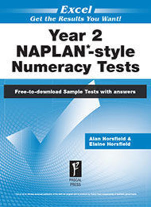 Picture of EXCEL NAPLAN*-STYLE NUMERACY TESTS YEAR 2