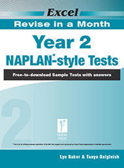 Picture of EXCEL REVISE IN A MONTH NAPLAN*-STYLE TESTS YEAR 2