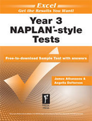 Picture of EXCEL NAPLAN*-STYLE TESTS YEAR 3
