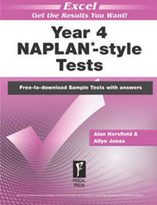 Picture of EXCEL NAPLAN*-STYLE TESTS YEAR 4