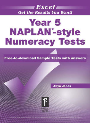 Picture of EXCEL NAPLAN*-STYLE NUMERACY TESTS YEAR 5