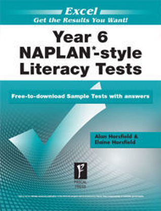 Picture of EXCEL NAPLAN*-STYLE LITERACY TESTS YEAR 6