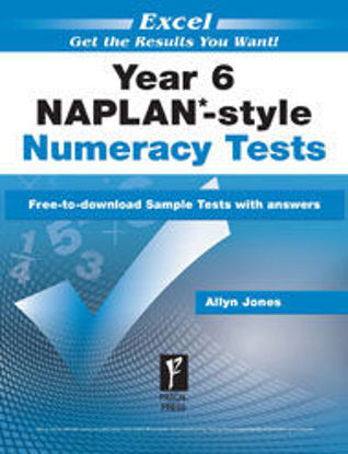 Picture of EXCEL NAPLAN*-STYLE NUMERACY TESTS YEAR 6