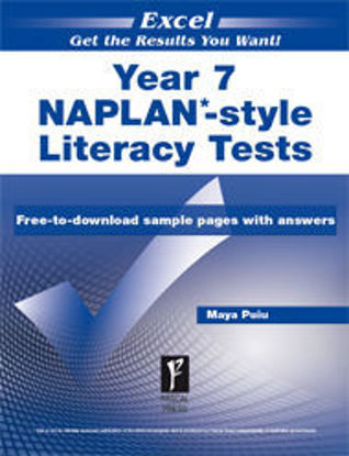 Picture of EXCEL NAPLAN*-STYLE LITERACY TESTS YEAR 7