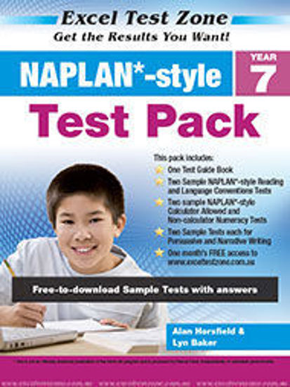 圖片 EXCEL TEST ZONE NAPLAN*-STYLE TEST PACK YEAR 7