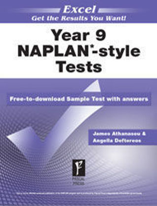 Picture of EXCEL NAPLAN*-STYLE LITERACY TESTS YEAR 9