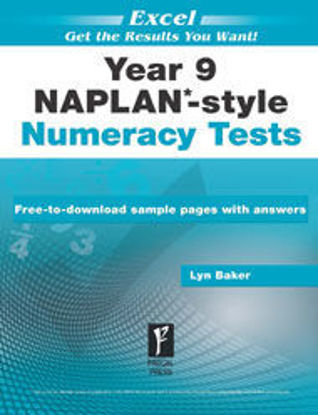 Picture of EXCEL NAPLAN*-STYLE NUMERACY TESTS YEAR 9