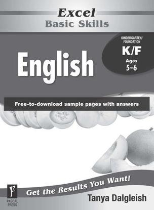 Picture of EXCEL BASIC SKILLS ENGLISH KINDERGARTEN/FOUNDA