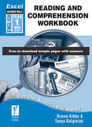 Picture of EXCEL ADVANCED SKILLS READING AND COMPREHENSION WORKBOOK YEAR 1