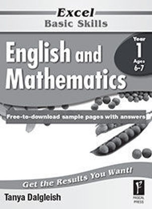 Picture of EXCEL BASIC SKILLS ENGLISH AND MATHEMATICS YEAR 1