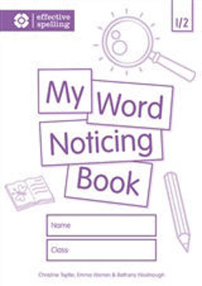 Picture of My Word Noticing Book 1/2