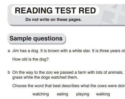 图片 Red Box - READING TEST
