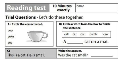 图片 Yellow Box - READING TEST