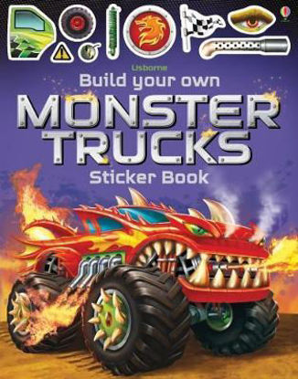 图片 Build Your Own Monster Trucks Sticker Book
