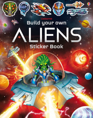 图片 Build Your Own Aliens Sticker Book