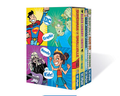 Picture of DC Graphic Novels for Kids Box Set 1