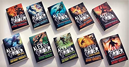 图片 Alex Rider Books
