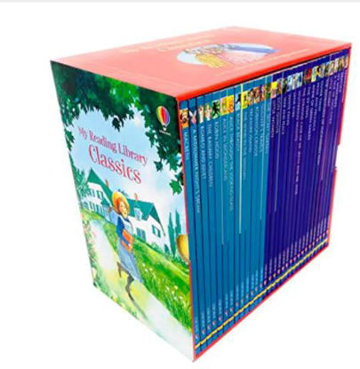 Picture of Usborne My Reading Library Classics 30 Books Box Set (#3): AGE 6-9