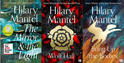 Picture of Hilary Mantel The Mirror & the Light, Wolf Hall and Bring Up The Bodies