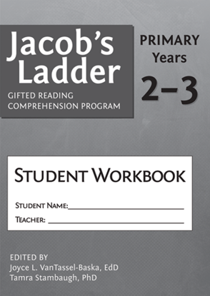 Picture of Jacob's Ladder Gifted Reading Comprehension Program Student Workbook Years 2-3