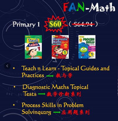 Picture of Fan - Math Bundle Pack for Year 1