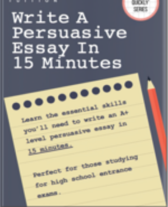 Picture of Write A Persuasive Essay In 15 Minutes