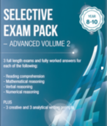 Picture of Selective Exam Pack - Advanced Volume 2