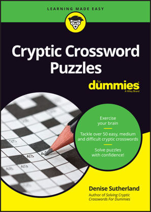Picture of Cryptic Crossword Puzzles For Dummies