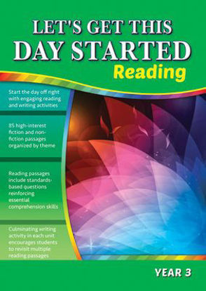 Picture of Let's Get This Day Started Reading, Year 3