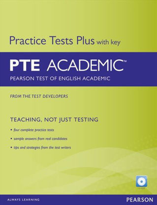 图片 Pearson Test of English PTE Academic – Practice Tests Plus with Key Pack