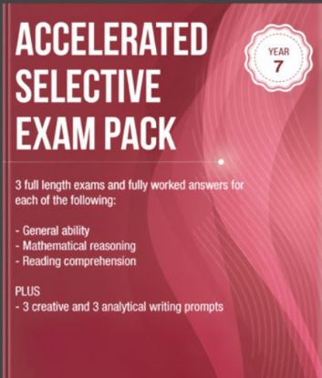 Picture of Accelerated Selective Exam Pack